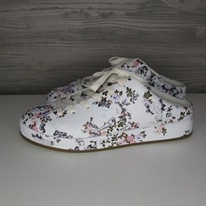 Rag & bone RB1 Mule Garden Floral Slip On Sneakers